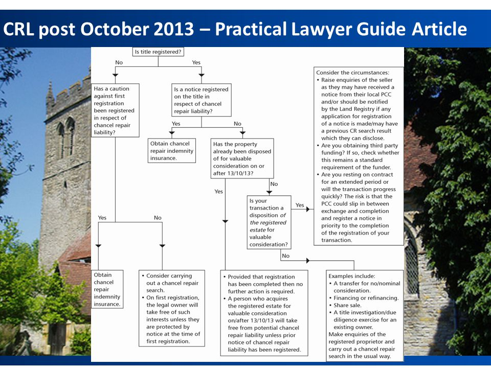 CRL post October 2013 – Practical Lawyer Guide Article