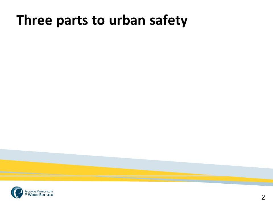 2 Three parts to urban safety