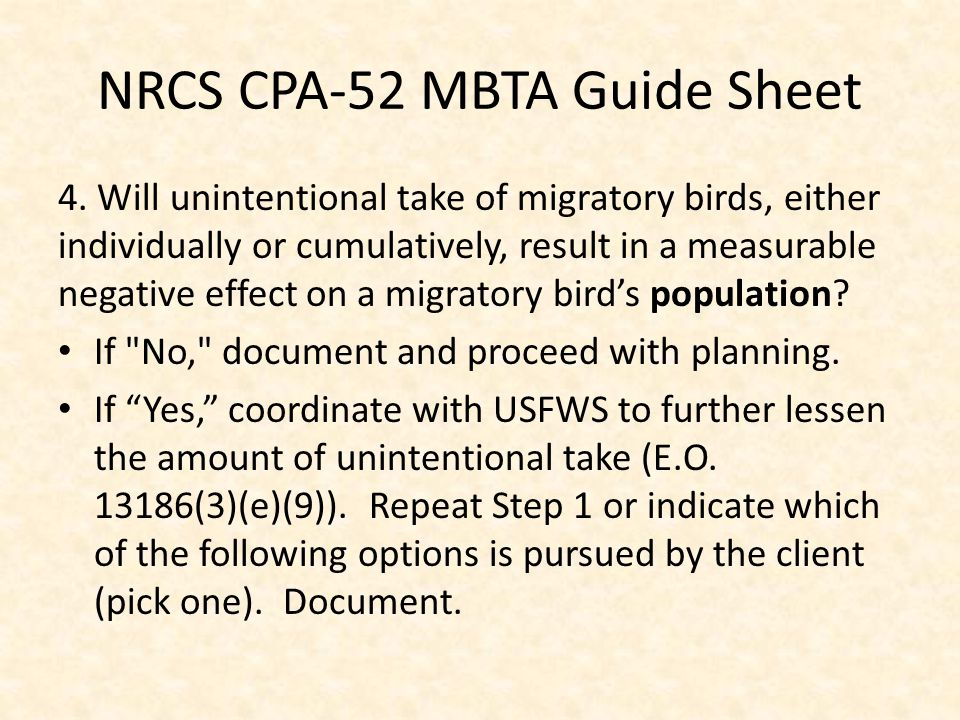 NRCS CPA-52 MBTA Guide Sheet 4.
