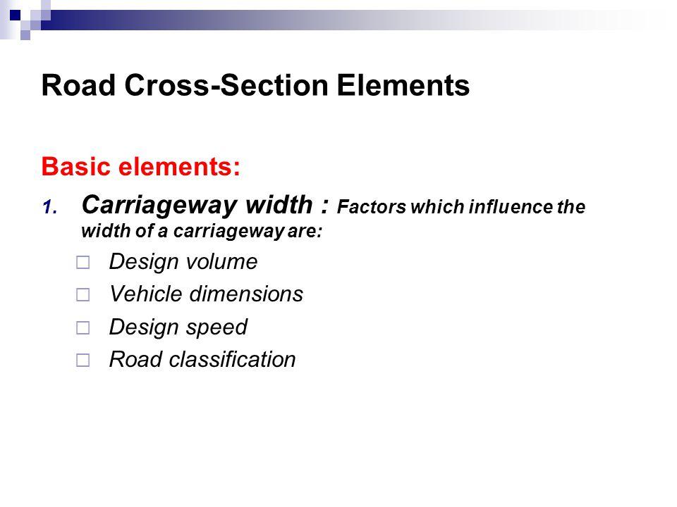 Basic elements: 1.