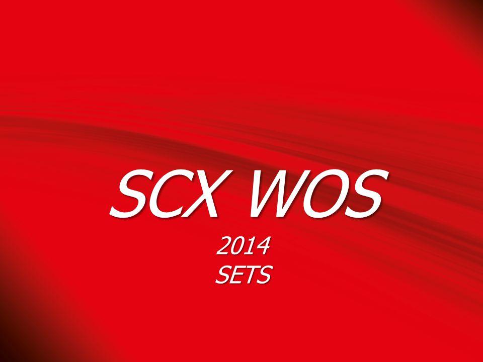 SCX WOS 2014SETS