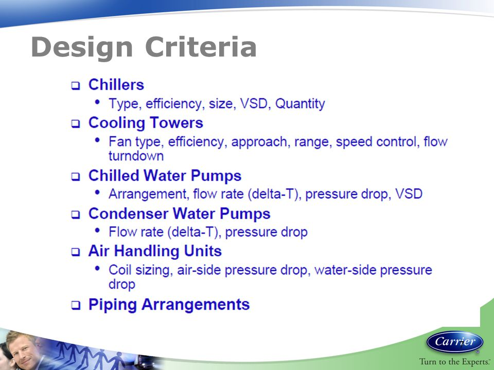 Design Criteria 7