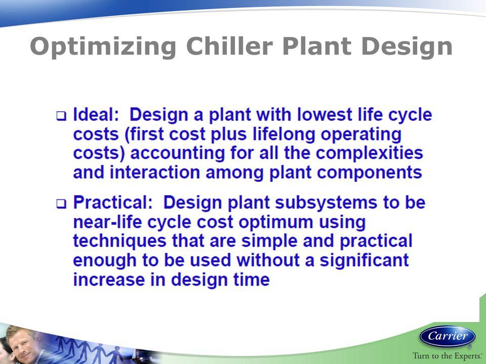 Optimizing Chiller Plant Design
