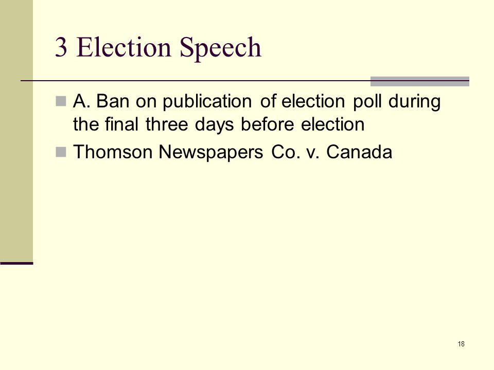 3 Election Speech A.