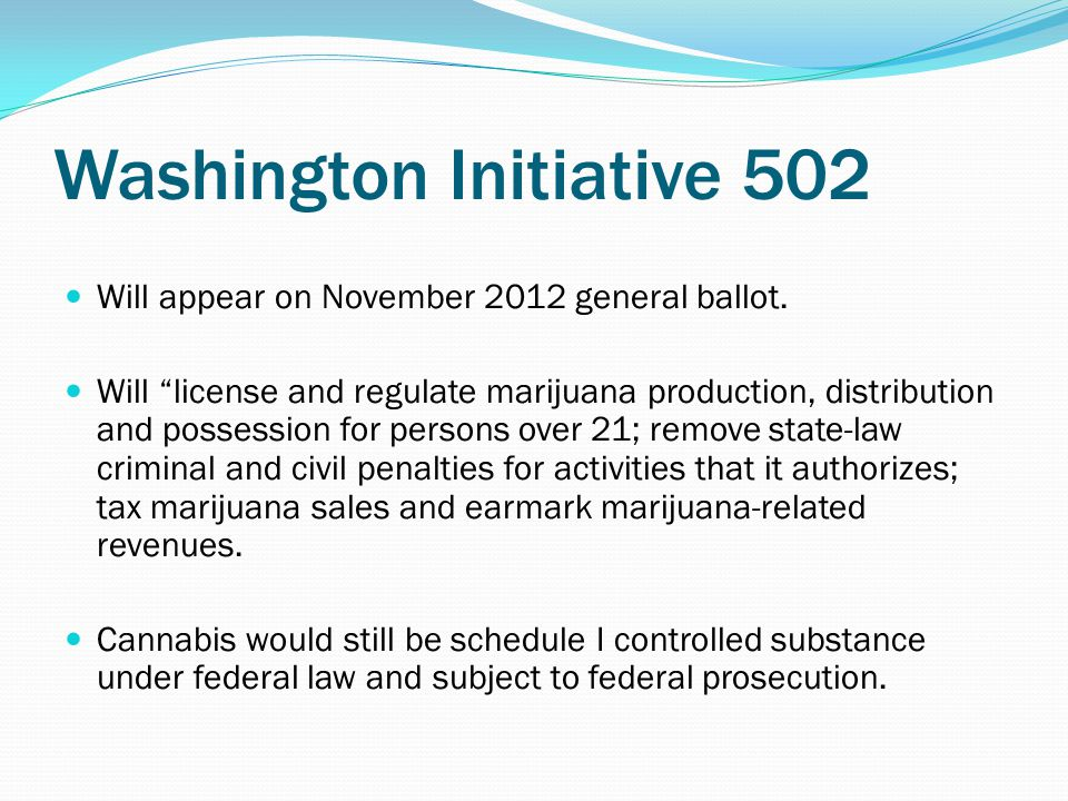2010 DOJ Memo Clarifies that dispensaries and licensed growers could be prosecuted for violating federal drug and money laundering laws.