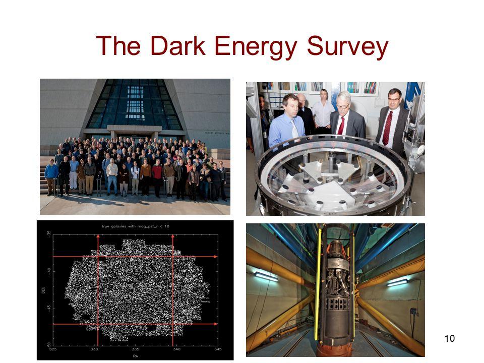 The Dark Energy Survey 10