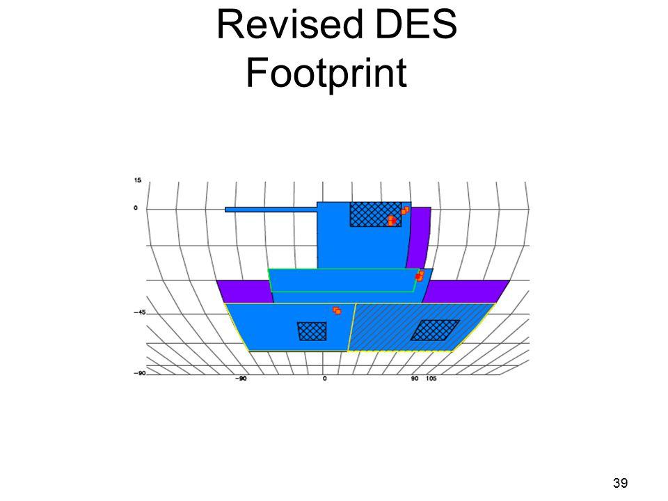 Revised DES Footprint 39