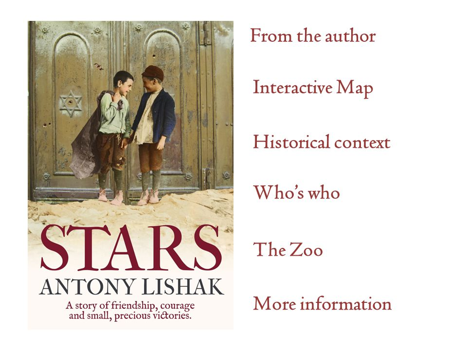 Interactive Map Historical context Who's who The Zoo More information From the author