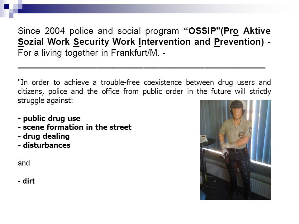 "16 07/03/11 Since 2004 police and social program ""OSSIP"