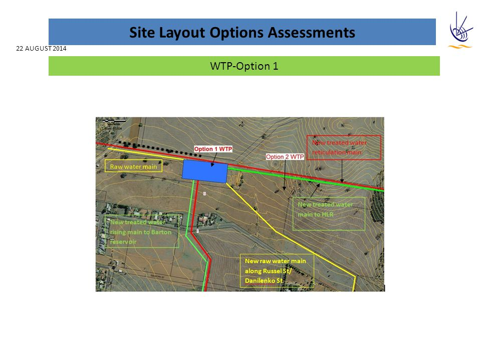 Sites Layout Options Assessments Project AspectRiskComments Land Title /Ownership -Owner - Parkes Shire Council on Lot 7313 DP 1143473 with batch settling ponds on part Lot 7313 DP 1143473 Lot 3 DP 823404 Contour RL -Approx at the ground 374mRL Existing Land-use -Disused Rifle Range and Travelling Stock Reserve LEP / Zoning -Land is zoned RU1 Primary Production under Parkes LEP 2013.