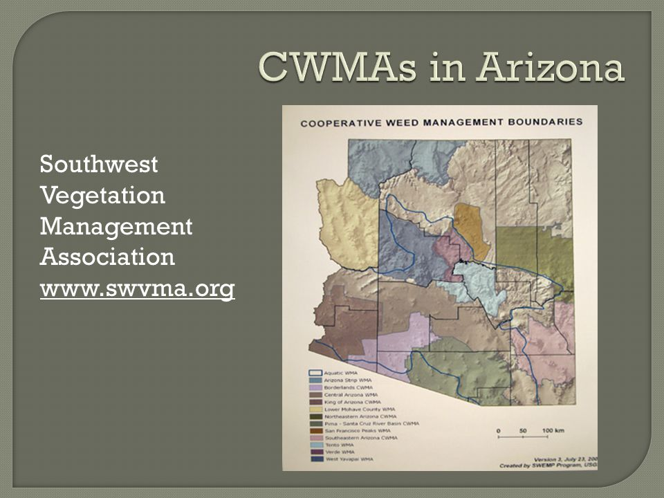 Southwest Vegetation Management Association www.swvma.org