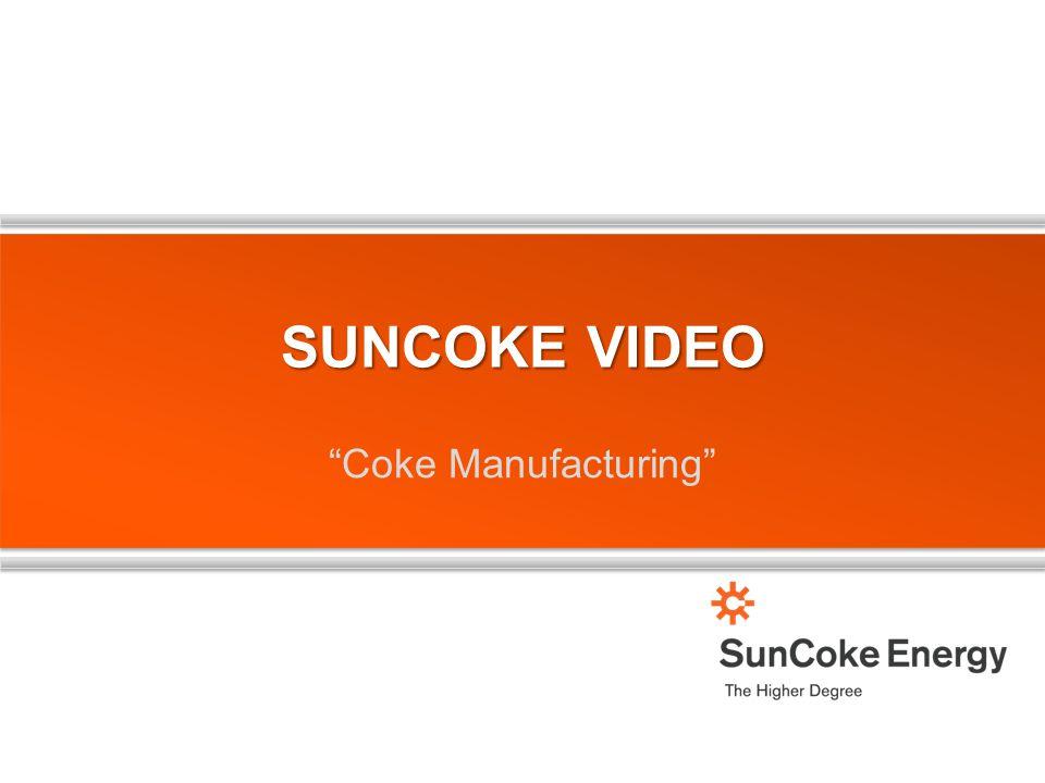 "SUNCOKE VIDEO ""Coke Manufacturing"""