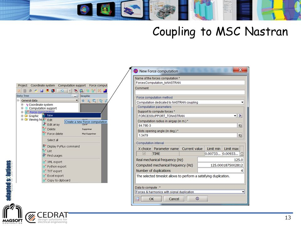 13 Coupling to MSC Nastran