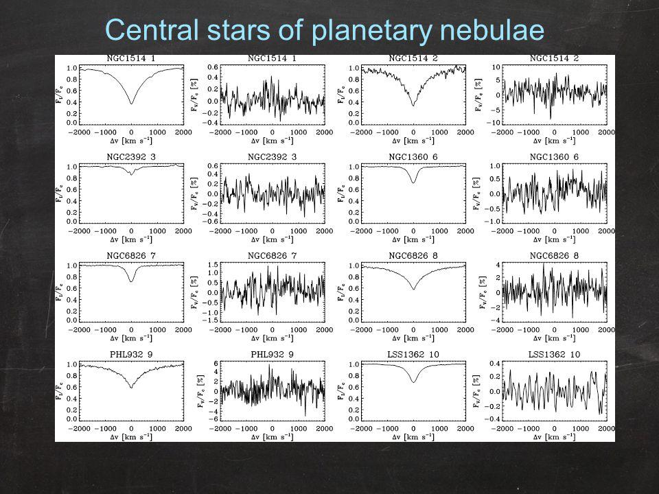 Central stars of planetary nebulae