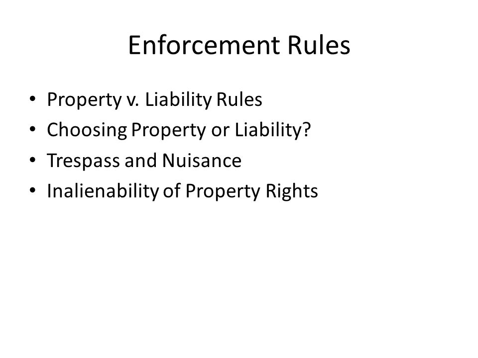 General Transaction Structure Assignment Enforcement
