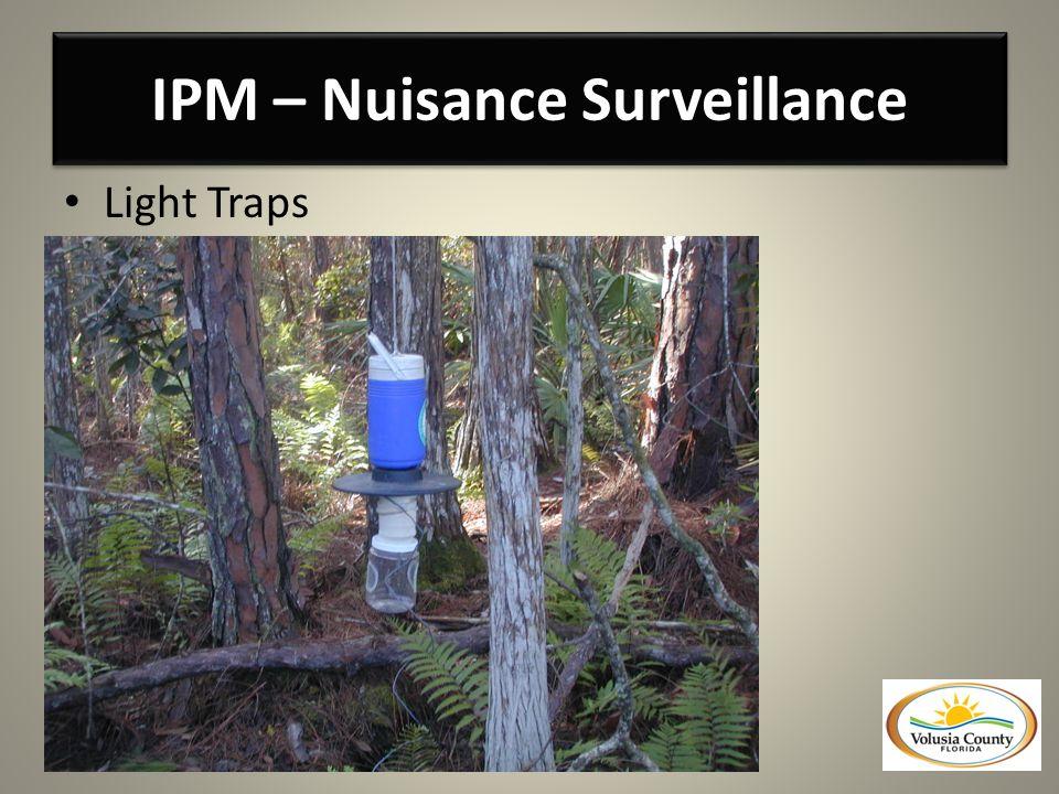 IPM – Nuisance Surveillance Light Traps