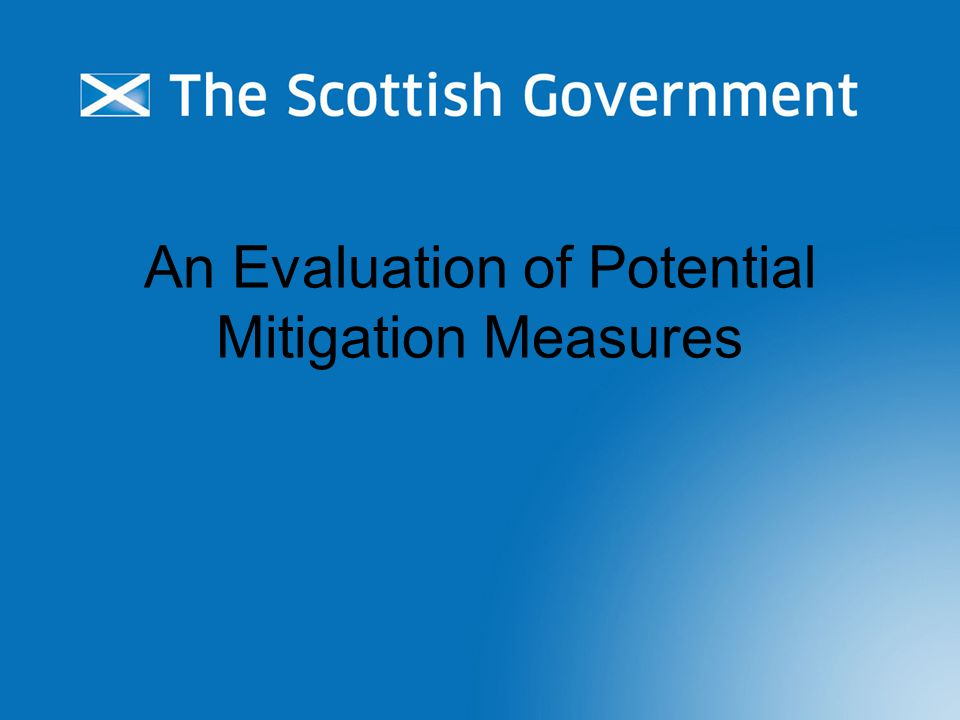 An Evaluation of Potential Mitigation Measures