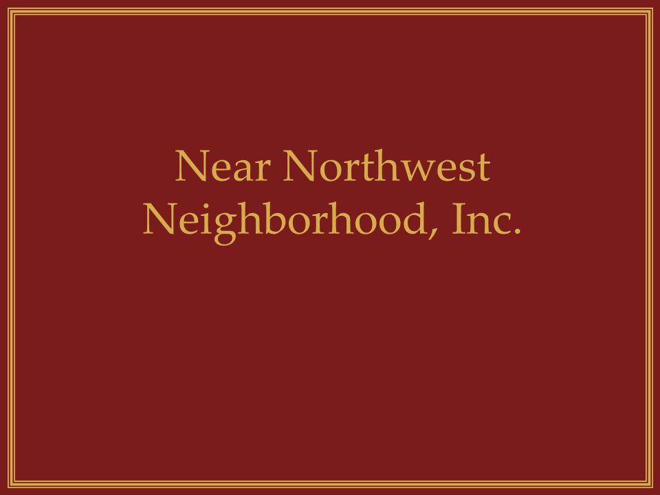 What does the NNN, Inc. do? Provides affordable housing to low-to- moderate income households