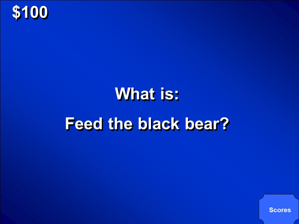 © Mark E. Damon - All Rights Reserved $100 Something that would be dangerous to do even if a black bear looks hungry