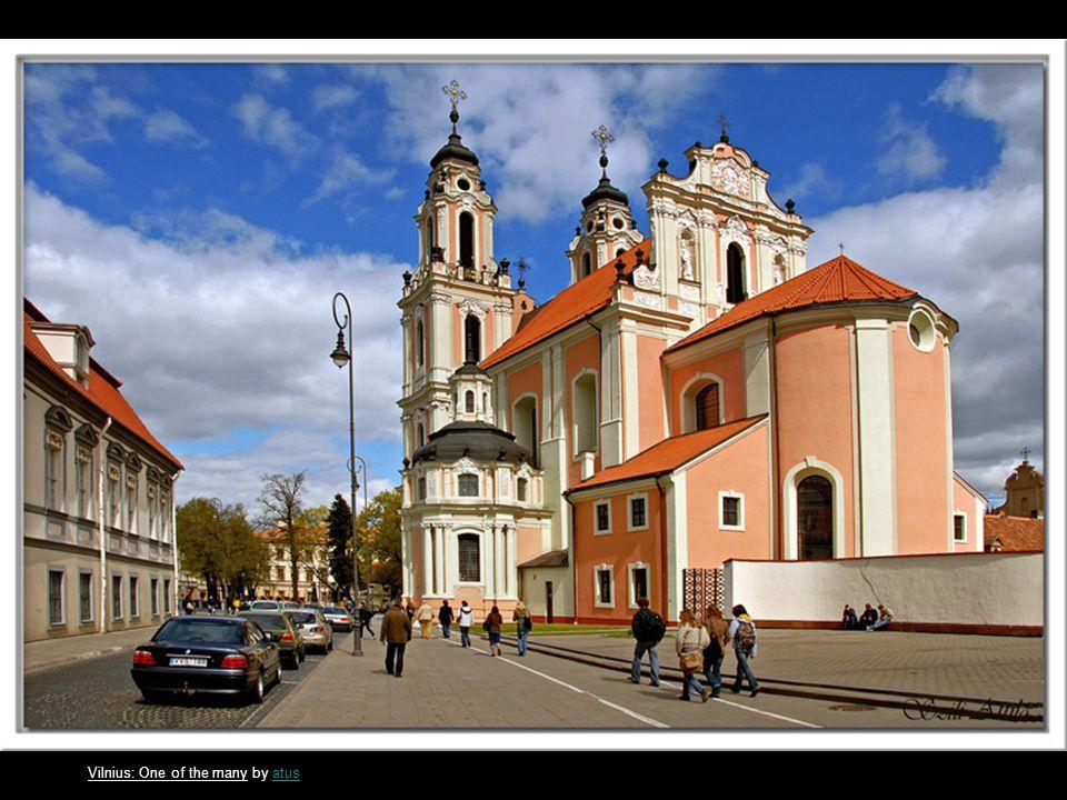 The Church of Karvys by linasklinask