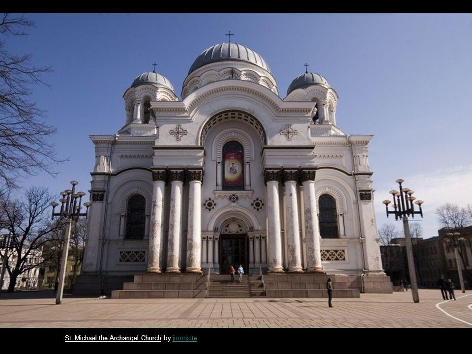 The Castle of Gedeminas by JVSJVS St. Michael the Archangel Church by voodoo_73voodoo_73