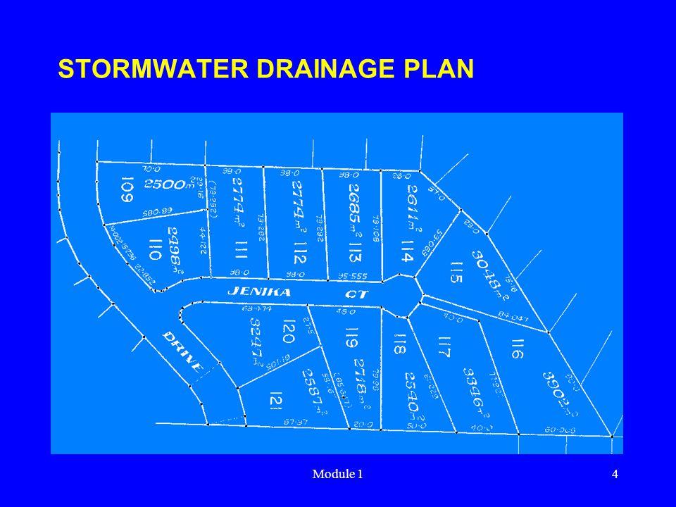 Module 14 STORMWATER DRAINAGE PLAN