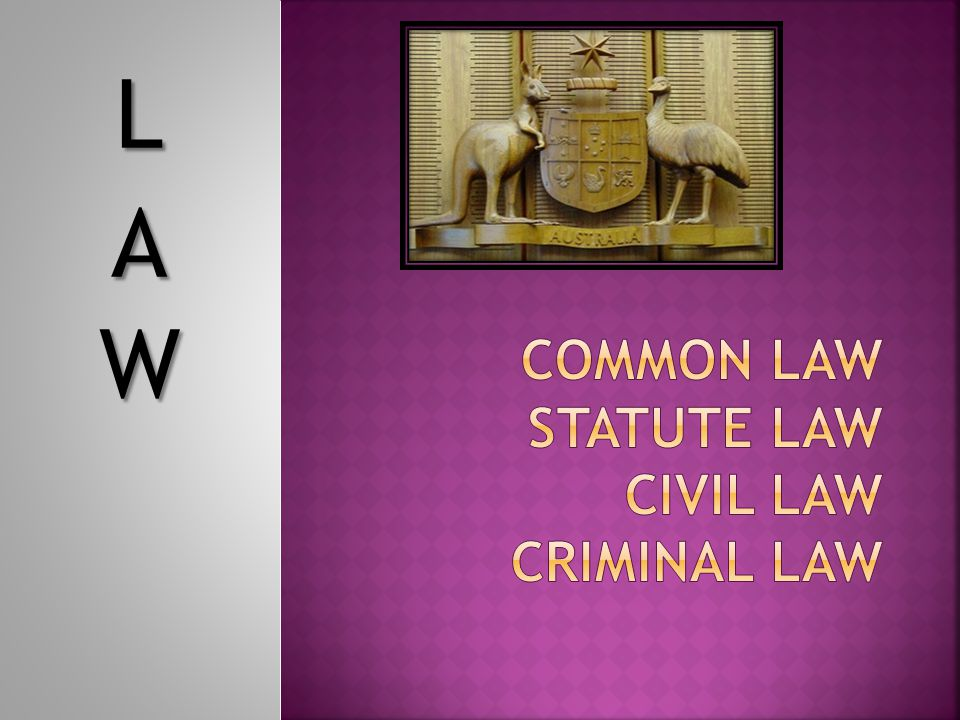  How would you distinguish between a rule or law.
