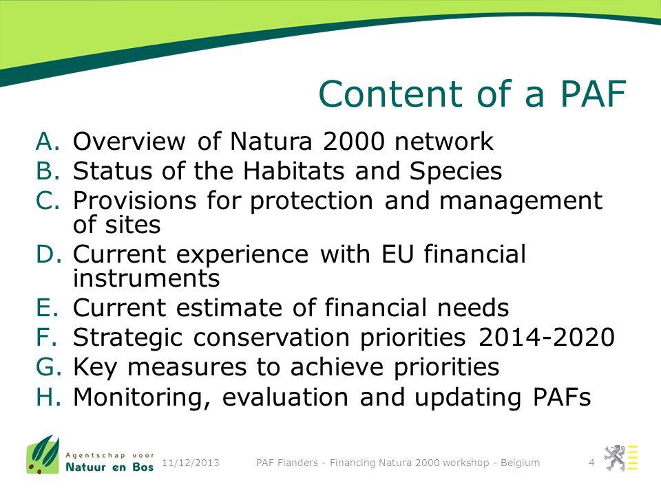 Securing ecosystem benefits (e.g.