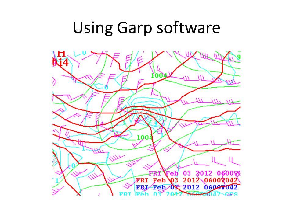 Using Garp software