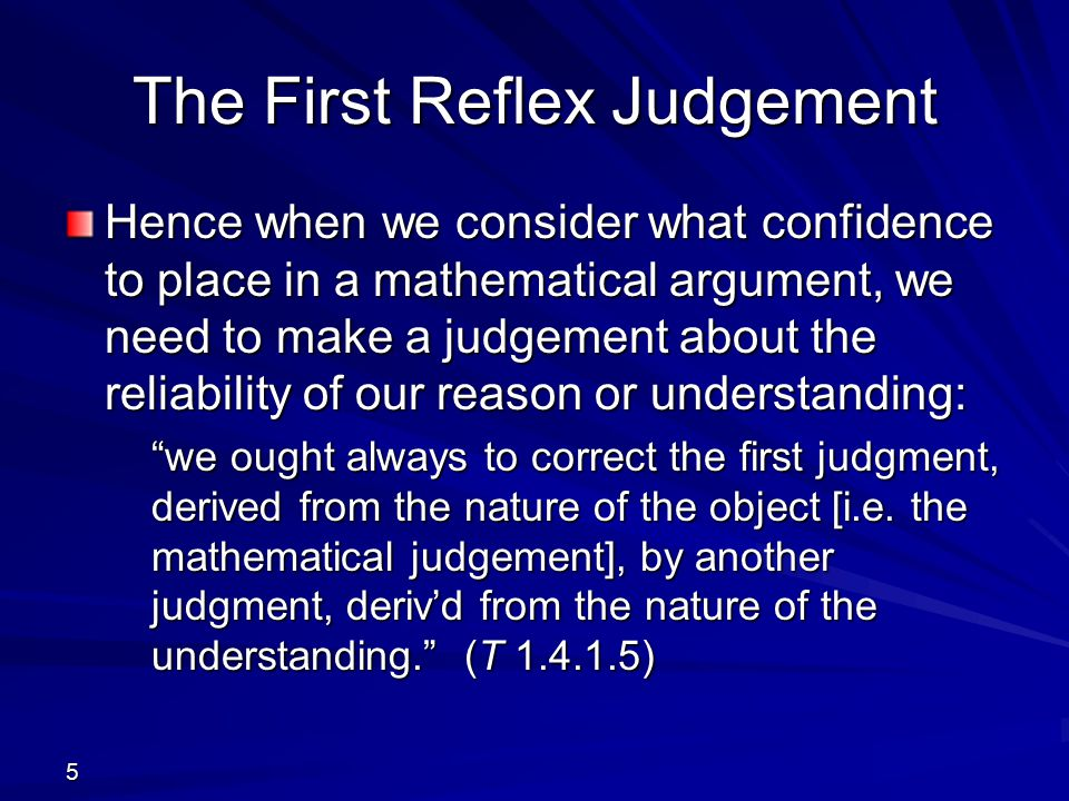 Constancy and Coherence Constancy of perceptions involves their similarity, when they return upon me (e.g.