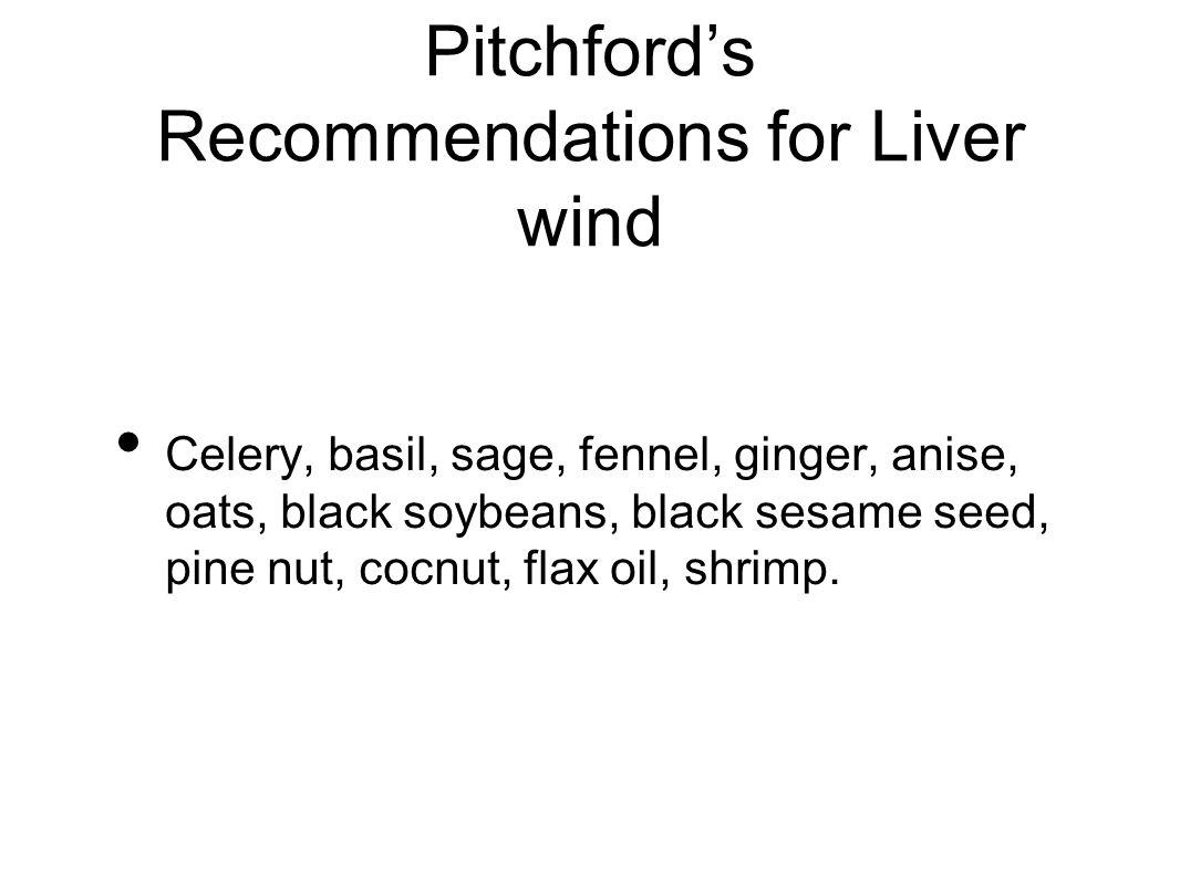 Celery, basil, sage, fennel, ginger, anise, oats, black soybeans, black sesame seed, pine nut, cocnut, flax oil, shrimp.