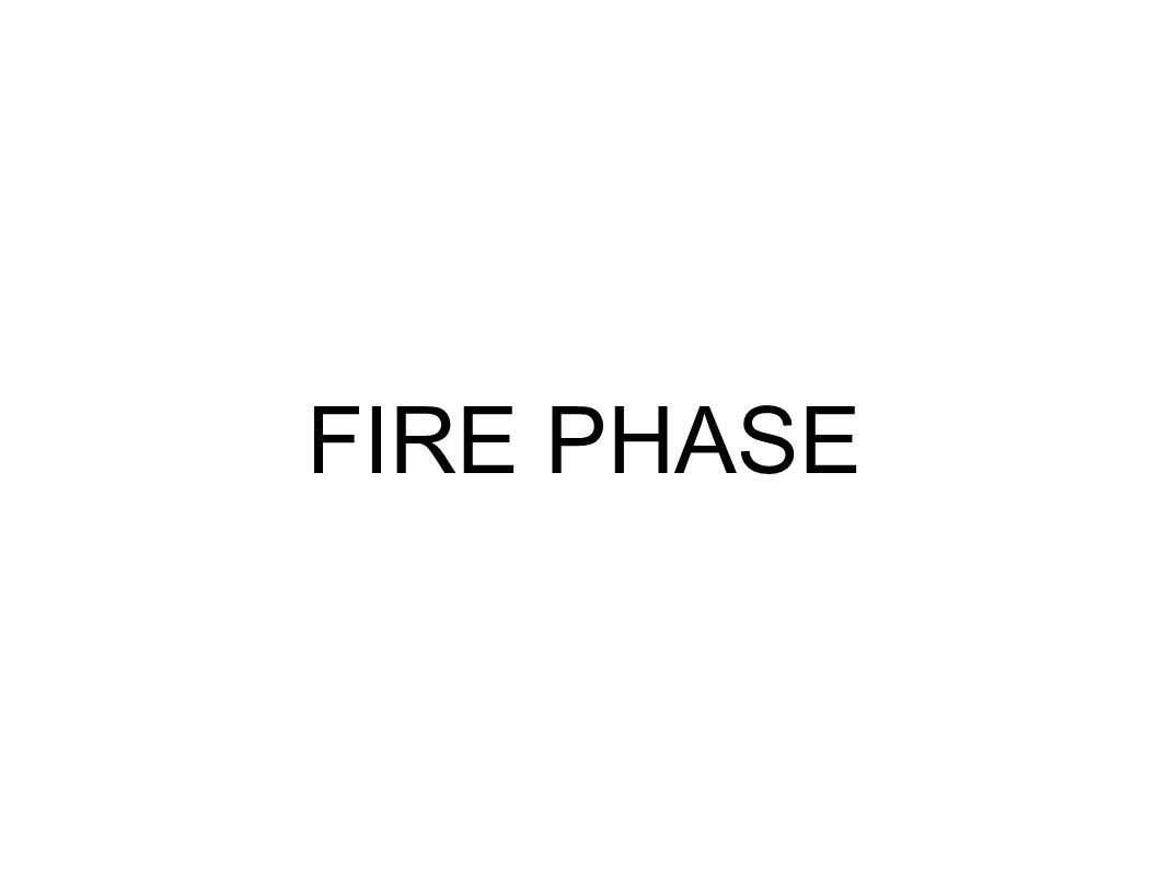 FIRE PHASE