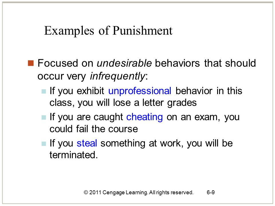 © 2011 Cengage Learning.