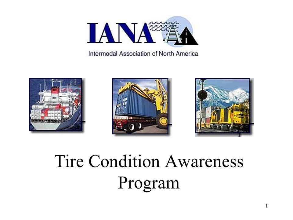 1 Tire Condition Awareness Program