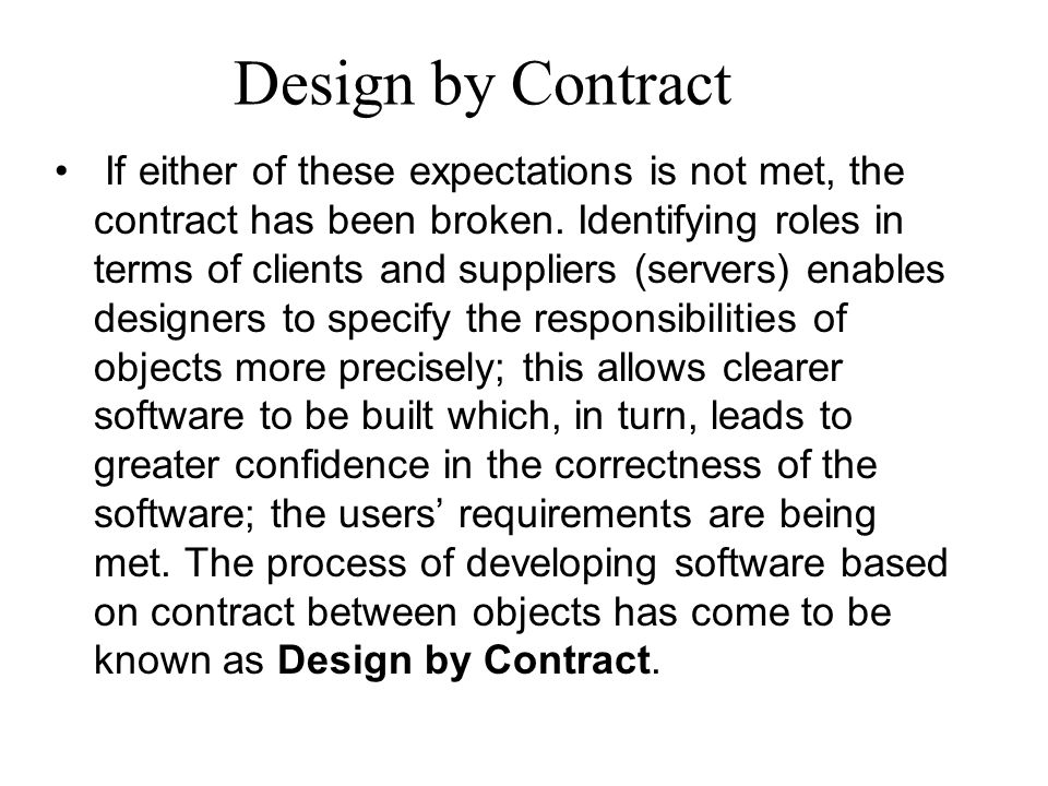The contract to produce quality software Use cases provide a language for describing requirements that aim to be understandable to both technical developers and non-technical customers and users.