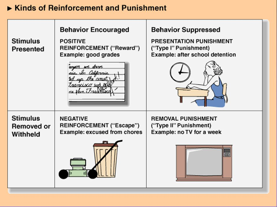 Principles: Punishers n Presentation and Removal n Time Out n Effectiveness of Punishment