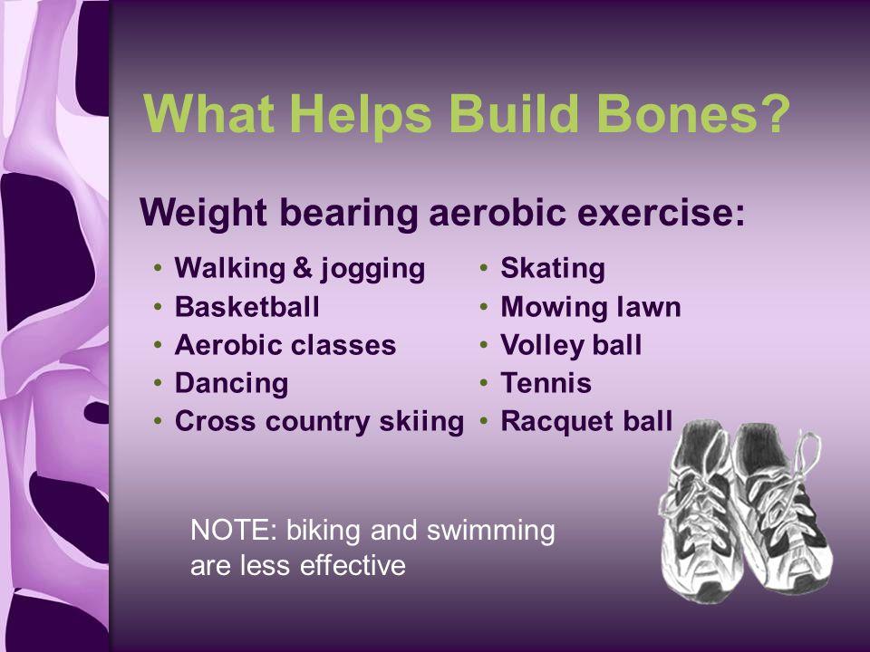 What Helps Build Bones.