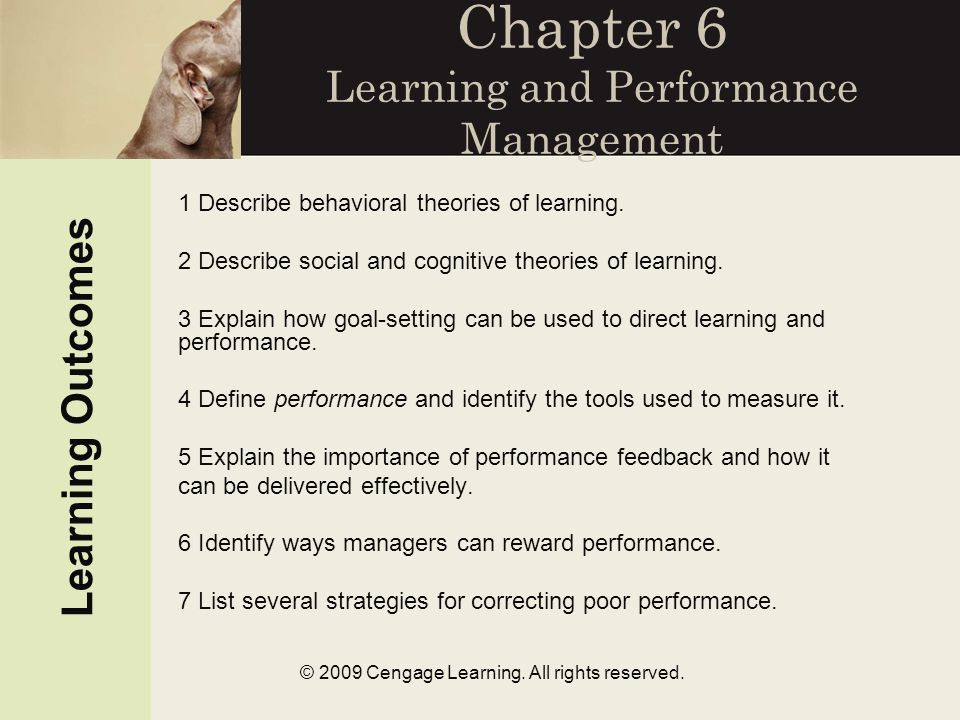 © 2009 Cengage Learning. All rights reserved.