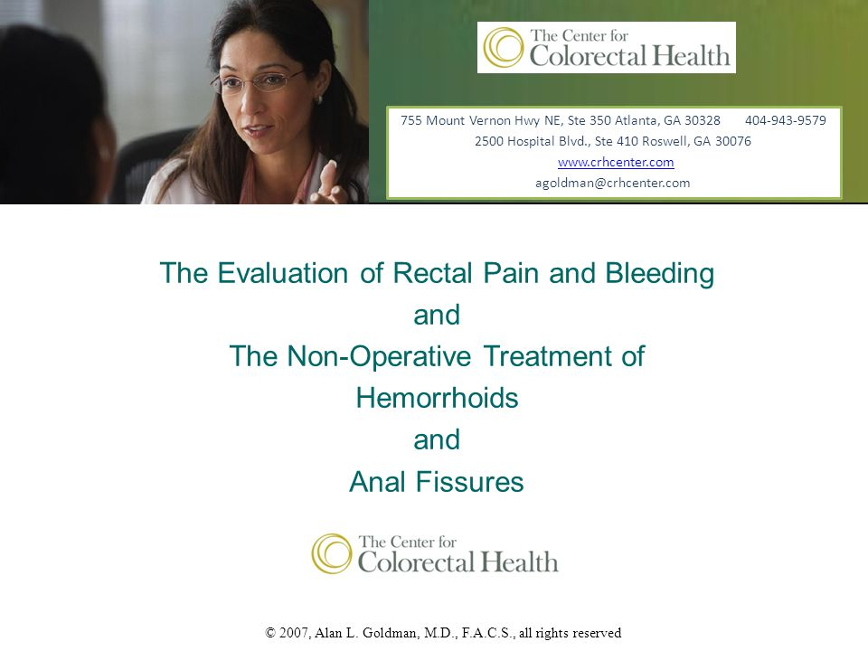 Prolapsed Internal Hemorrhoids