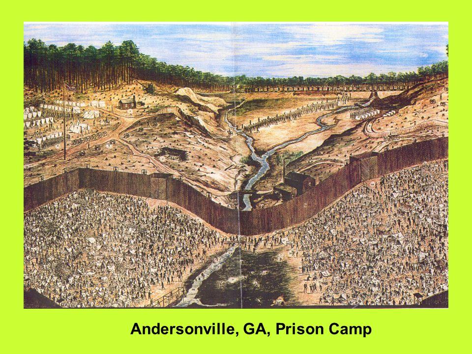 Andersonville, GA, Prison Camp