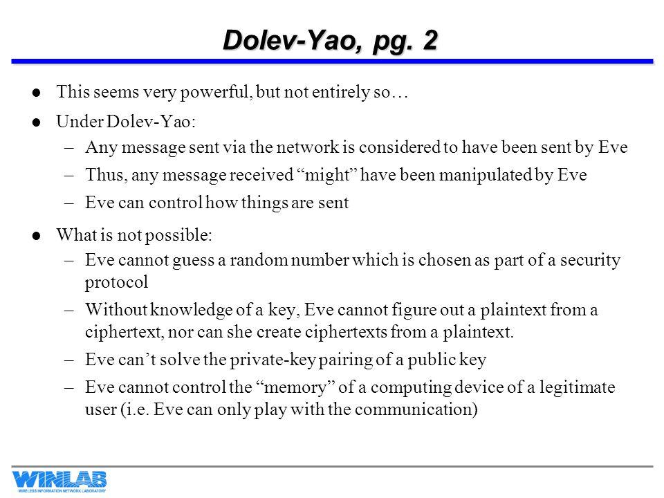 Zero Knowledge Interactive Proofs The basic idea: 1.