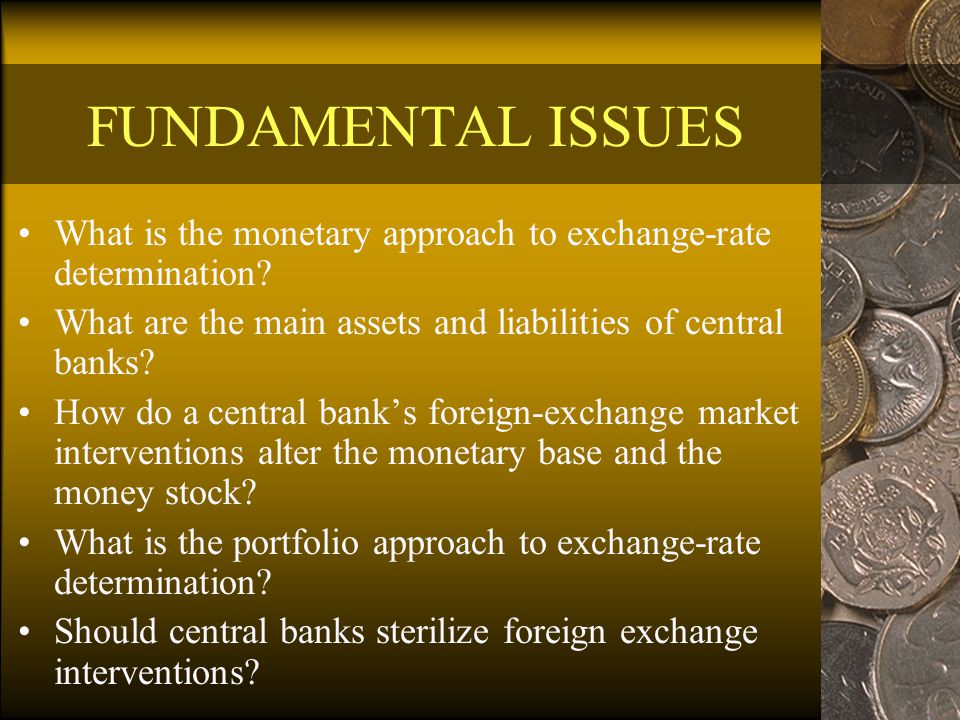 Monetary Policy and Foreign Exchange Rates