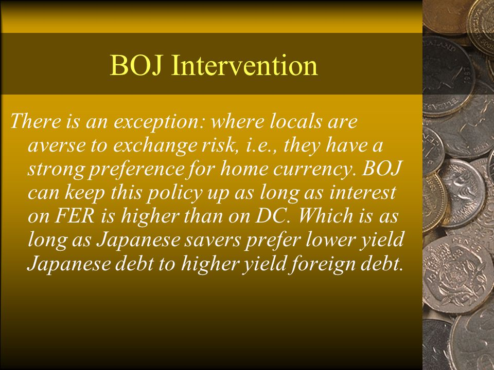 BOJ Intervention What effect would selling ¥1 trillion domestic bonds have.