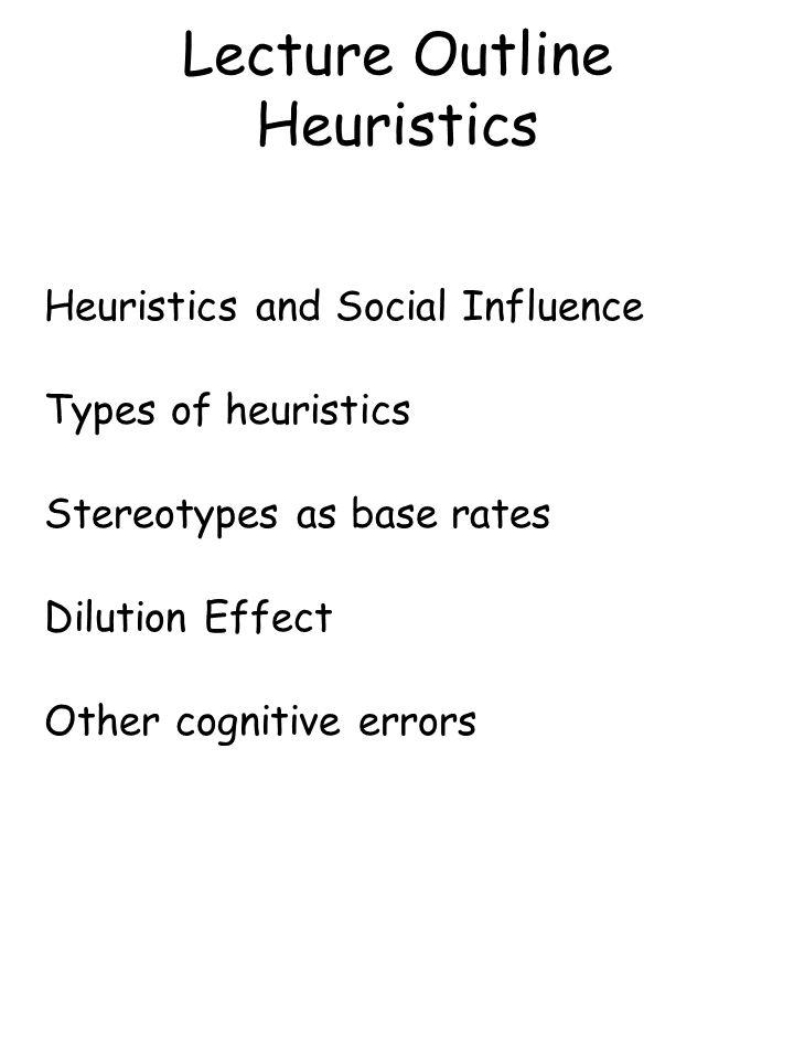 Locksley et al.'s Conclusion: Diagnostic case information reduces people's reliance on base rates Non-diagnostic information does not reduce people's reliance on base rates Assertiveness Study Locksley et al.