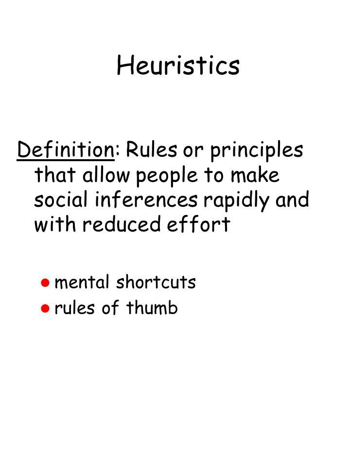 Base Rate Study Kahneman & Tversky (1973) Procedure: 1. Participants given following instructions: