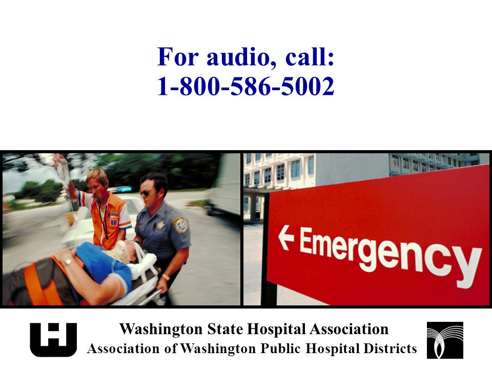 Dedicated Emergency Department (DED) DED is defined to be: On or off main hospital campus and –licensed by the state as an emergency department or –held out to the public as an emergency department or place providing urgent care without an appointment or –1/3 of outpatient visits during previous year were for emergency medical conditions or urgent care needs without an appointment (implications for labor and delivery and psychiatric departments)
