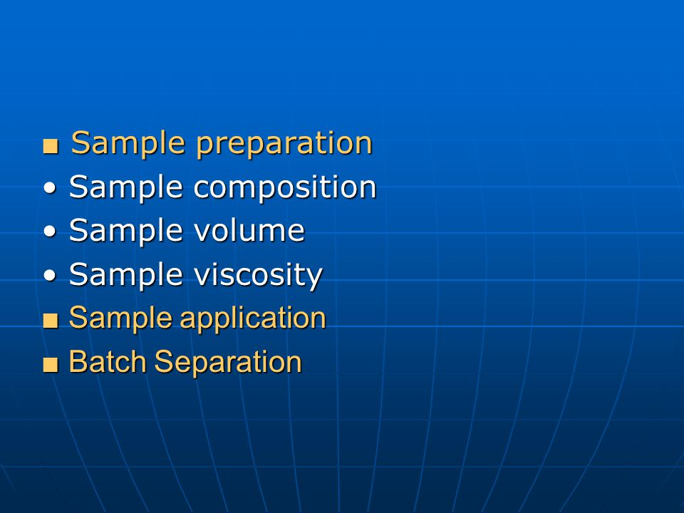 Advantages of HIC Large volume of sample can be loaded Large volume of sample can be loaded Samples with high ionic strength can be used Samples with high ionic strength can be used Well suited to use before gel filtration, ion-exchange and affinity chromatography Well suited to use before gel filtration, ion-exchange and affinity chromatography Sample eluted with low salt Sample eluted with low salt Purification steps that generate large sample volume can be coupled with this method Purification steps that generate large sample volume can be coupled with this method Good for samples after ammonium sulfate fractionation.