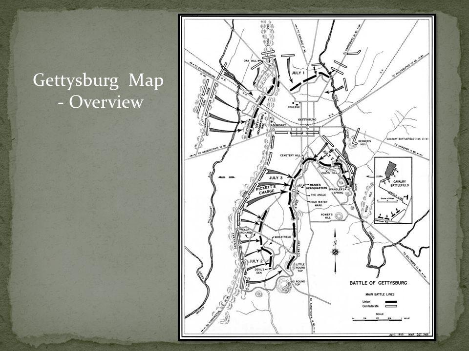 Gettysburg Map - Overview