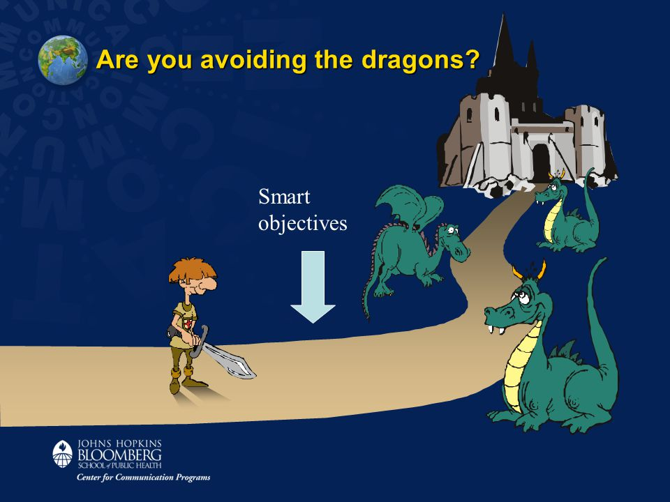 Are you avoiding the dragons Smart objectives