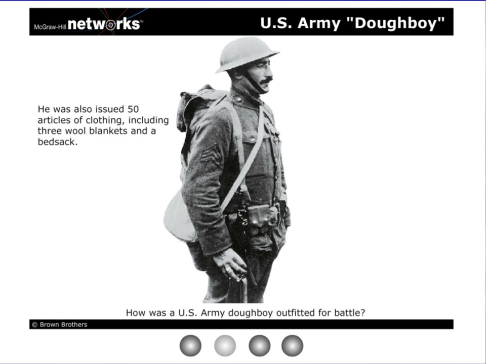 Discussion  How did new technologies affect tactics in WWI.